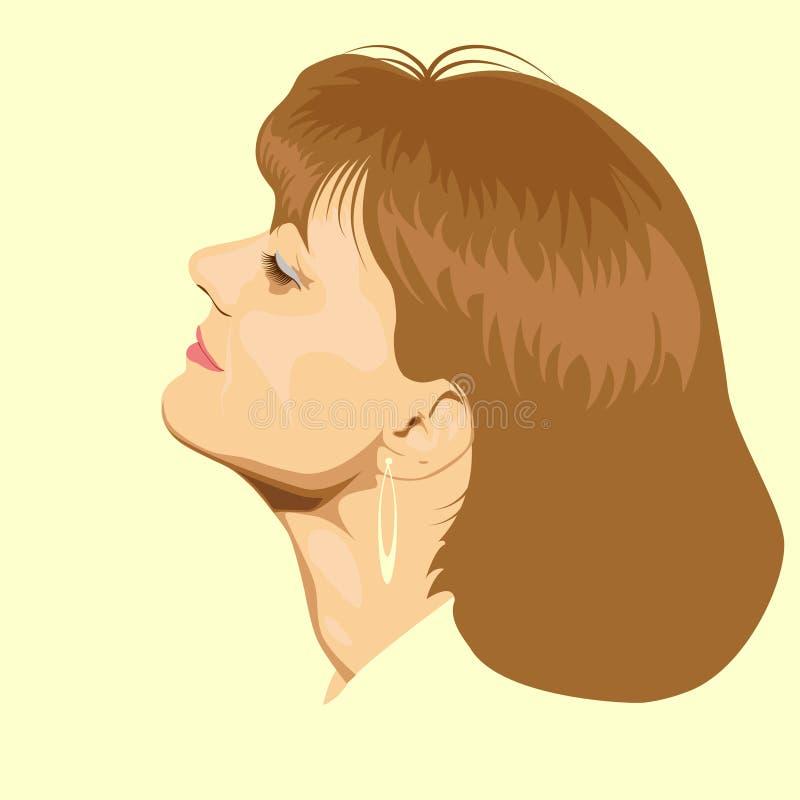 twarzy piękna kobieta zdjęcia stock