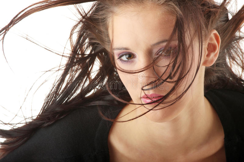 twarzy piękna kobieta s obraz royalty free