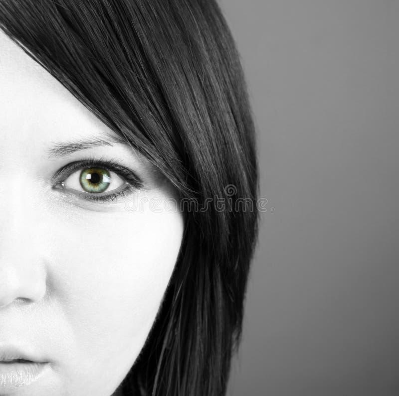 twarzy piękna kobieta s fotografia royalty free