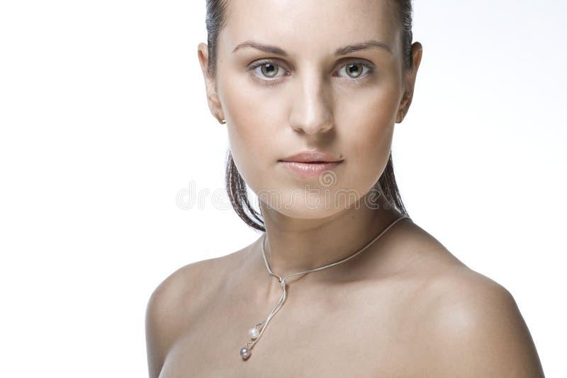 Download Twarzy piękna kobieta obraz stock. Obraz złożonej z oczy - 13334283