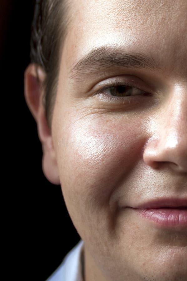 twarzy połówki portret obrazy royalty free