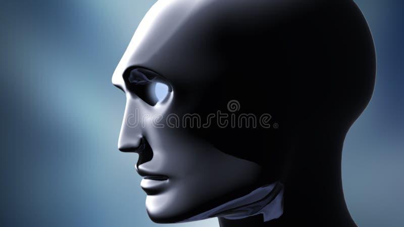 twarzy samiec ilustracji