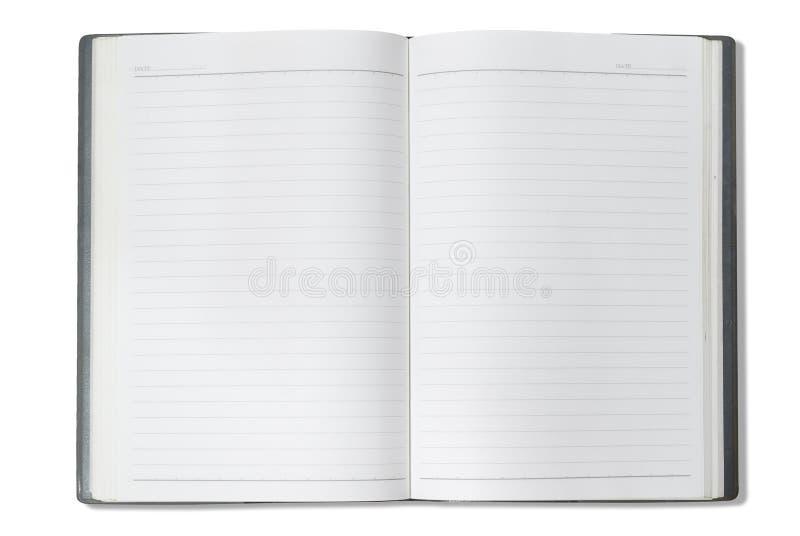 twarzy szarość notatnik fotografia stock