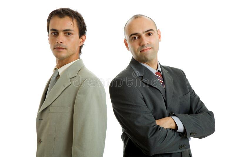 Twee bedrijfsMensen royalty-vrije stock afbeelding