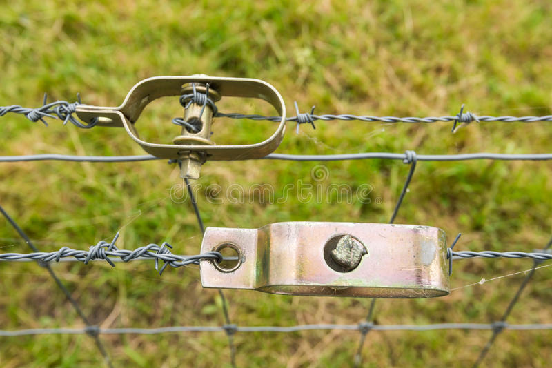 Twee draadspanners van het sluiten royalty-vrije stock afbeelding