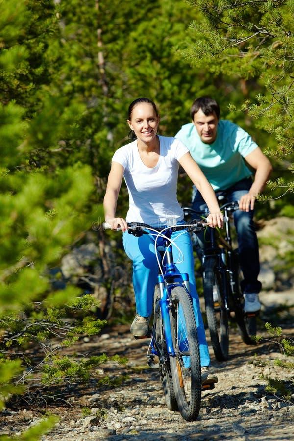 Download Twee fietsers stock afbeelding. Afbeelding bestaande uit persoon - 29514453