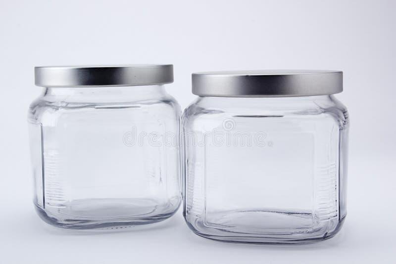 Twee gefacetteerde kruiken stock afbeelding