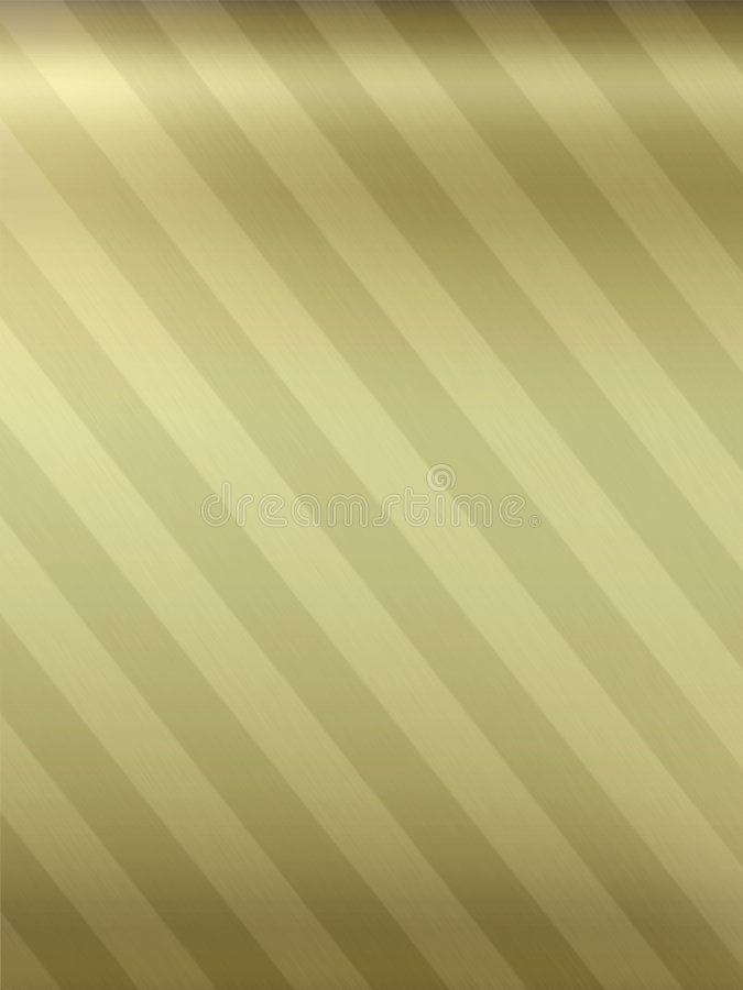 Twee-gestemde gouden metaalachtergrond vector illustratie