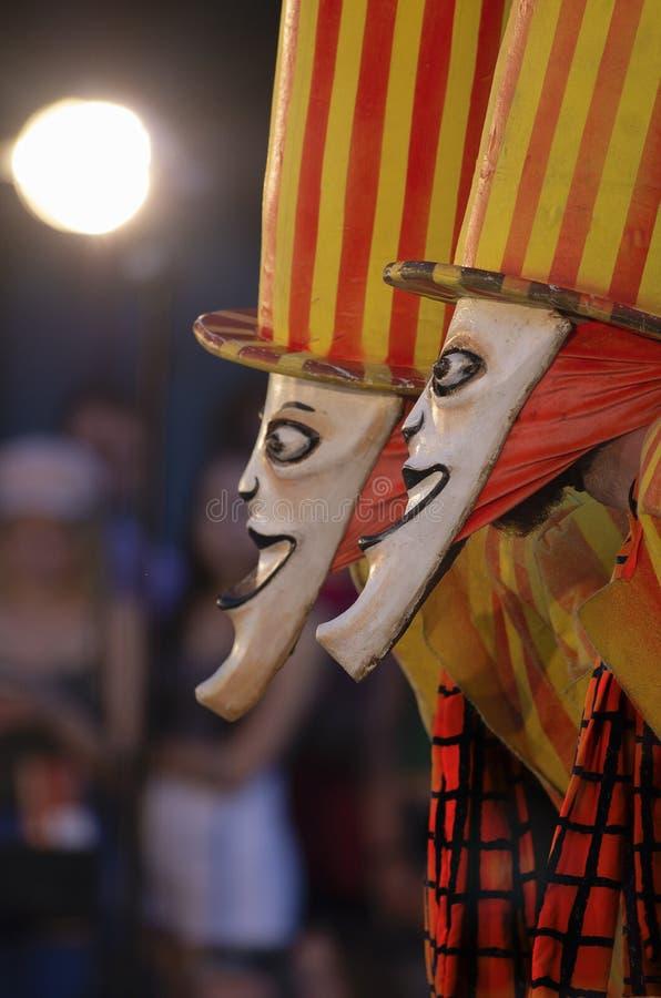 Twee heel jokers royalty-vrije stock foto