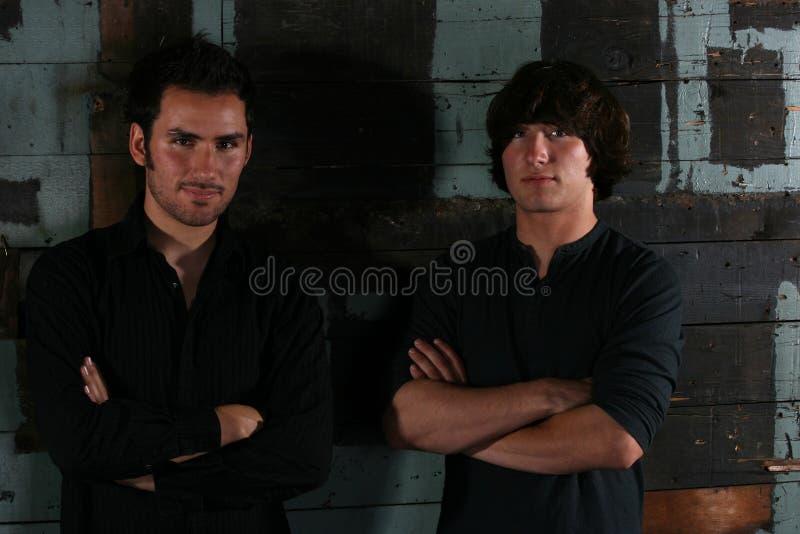 Twee jonge mensen royalty-vrije stock fotografie