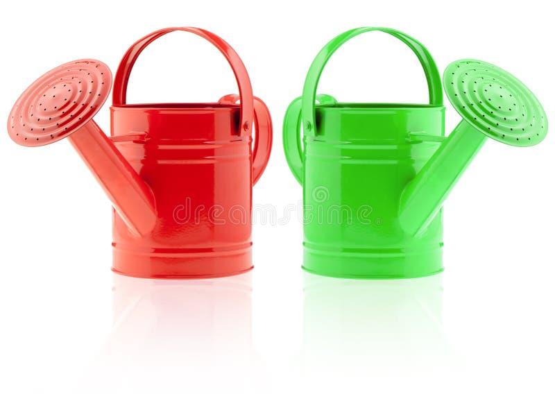 Twee kleurengieter stock foto's