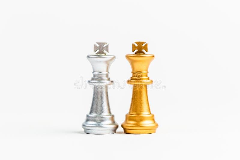 Twee Koningenschaak stock foto