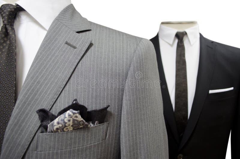 Twee kostuums royalty-vrije stock afbeelding