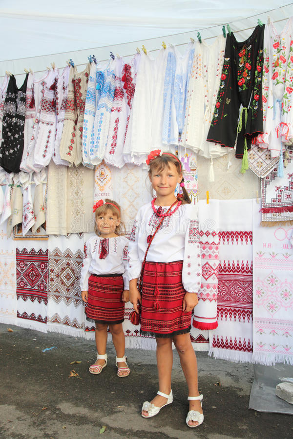 Twee meisjes S stock afbeelding