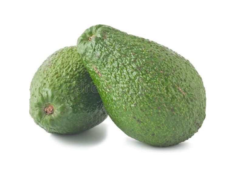 Twee rijpe avocado's stock fotografie