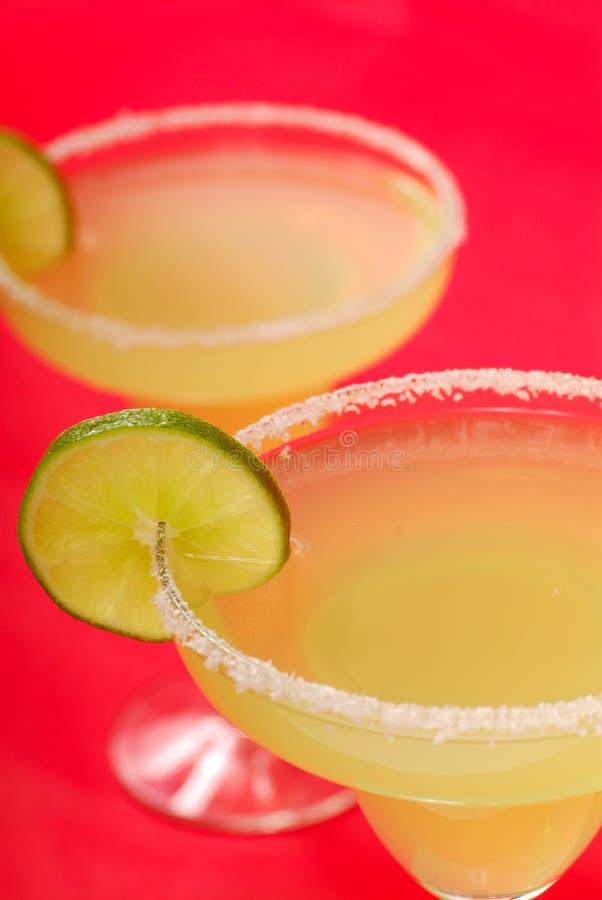 Twee smakelijke Margaritas stock foto