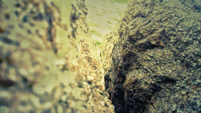 Twee steen gezamenlijk punt stock afbeelding