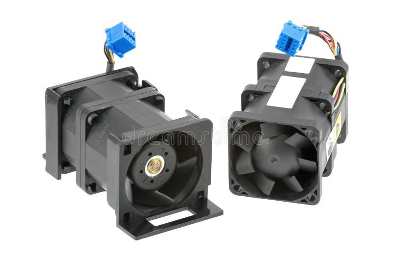 Twee Ventilators van de dubbel-Rotor stock afbeeldingen
