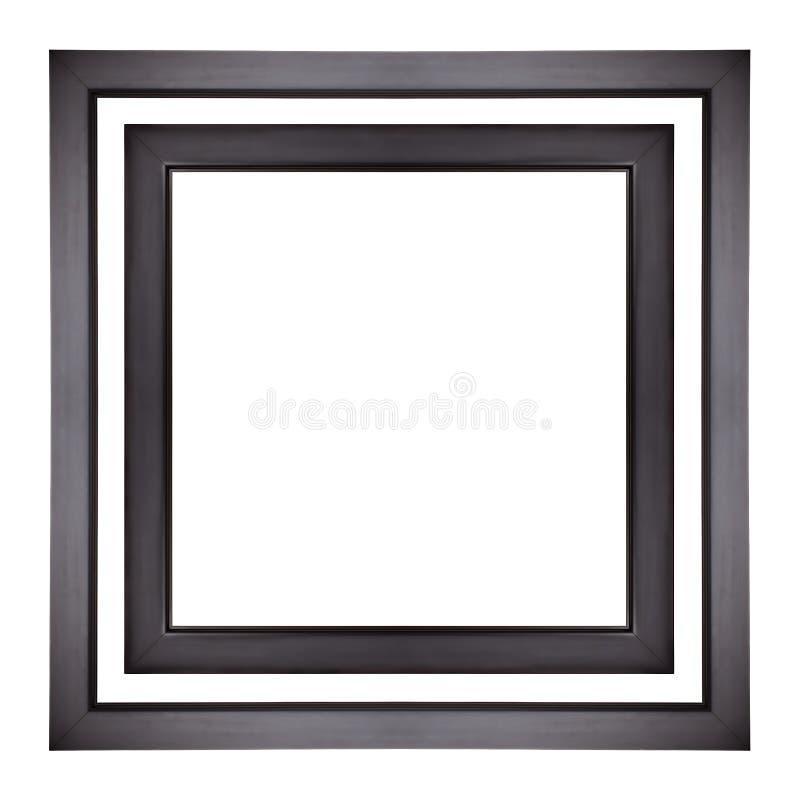 Twee Vierkante Photoframes royalty-vrije stock foto's