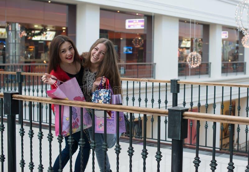 Twee Vrouwen het Spreken royalty-vrije stock afbeelding