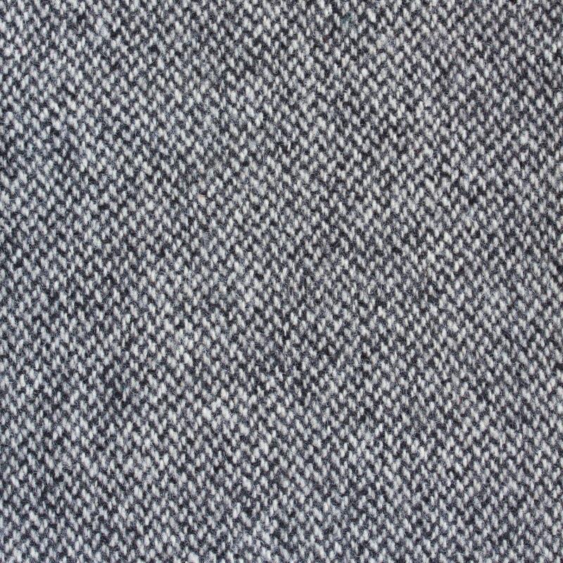 Tweed fabric herringbone texture stock image