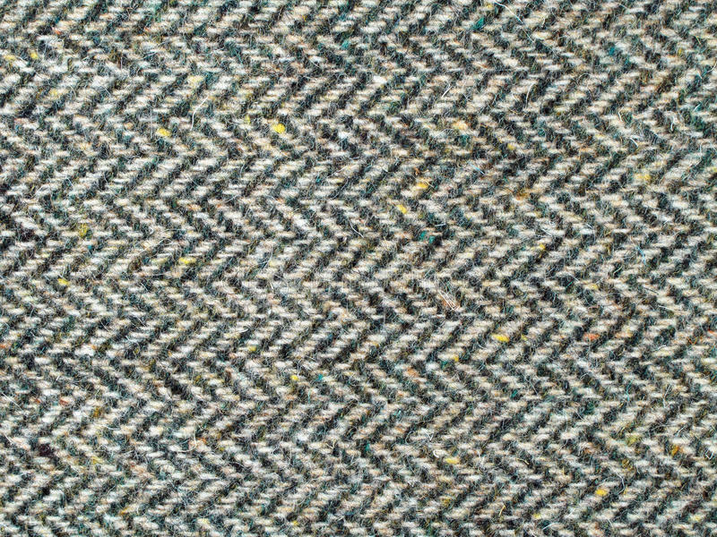 Tweed fabric texture stock images