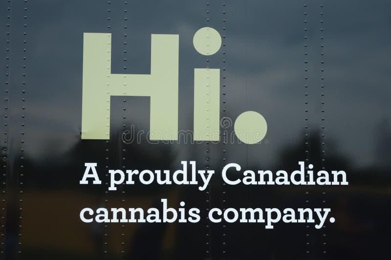 Tweed-hallo Logo lizenzfreie stockfotografie