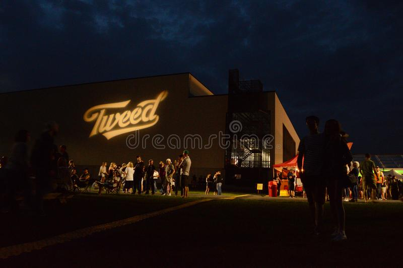 Tweed Shinidg-Festival stockfotografie