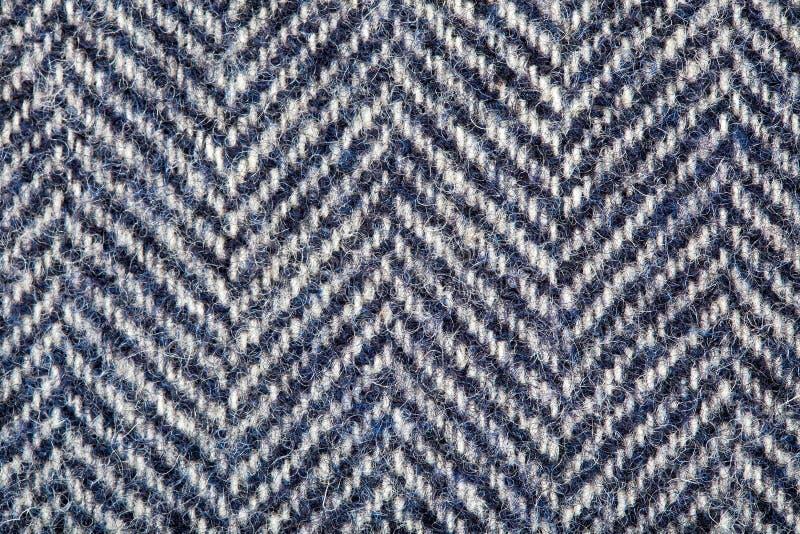 Tweed, Van de Achtergrond wol Textuur royalty-vrije stock afbeelding