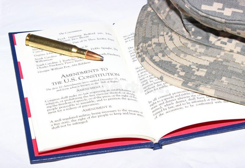 Tweede Amendement royalty-vrije stock foto