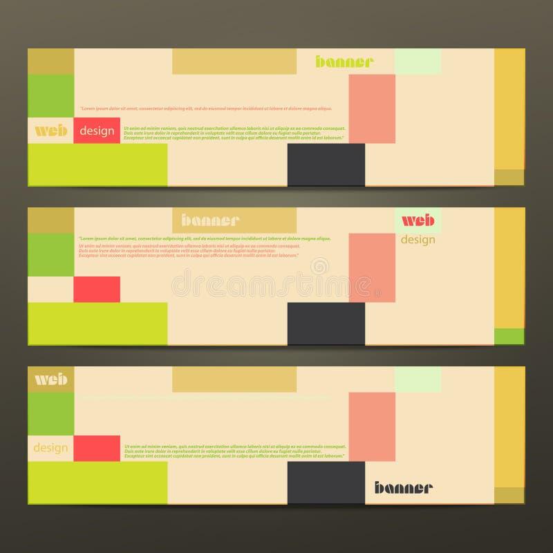 Tweede minimalistic stock illustratie