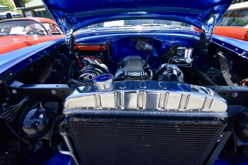 Tweekleurige 1956 Chevrolet 210, 2 stock fotografie