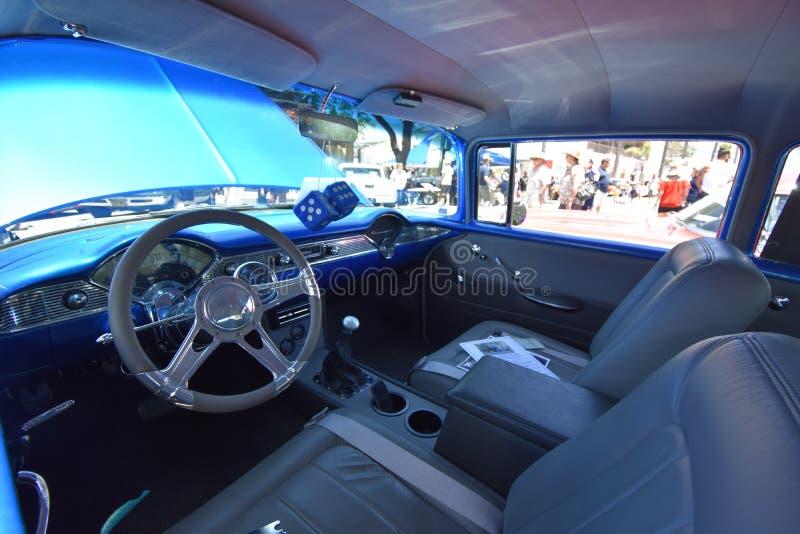 Tweekleurige 1956 Chevrolet 210, 3 stock foto's