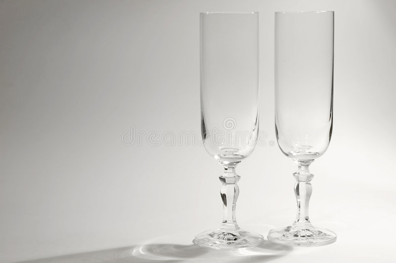 Download Tweeling glazen stock foto. Afbeelding bestaande uit champagne - 38822