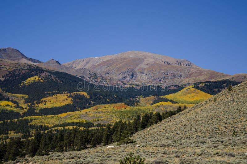 Tweeling Meren Colorado royalty-vrije stock afbeelding