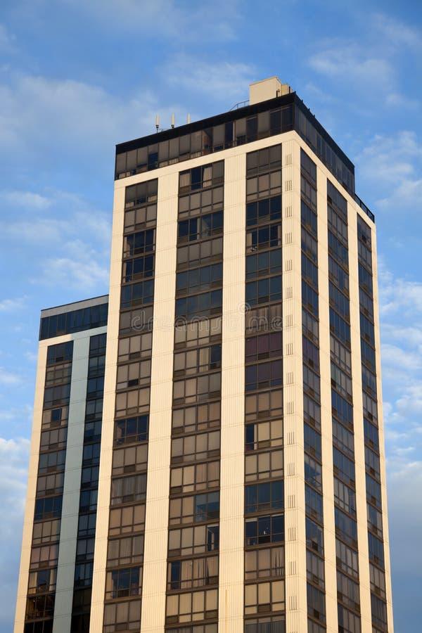 Tweeling Torens in Peoria stock foto's