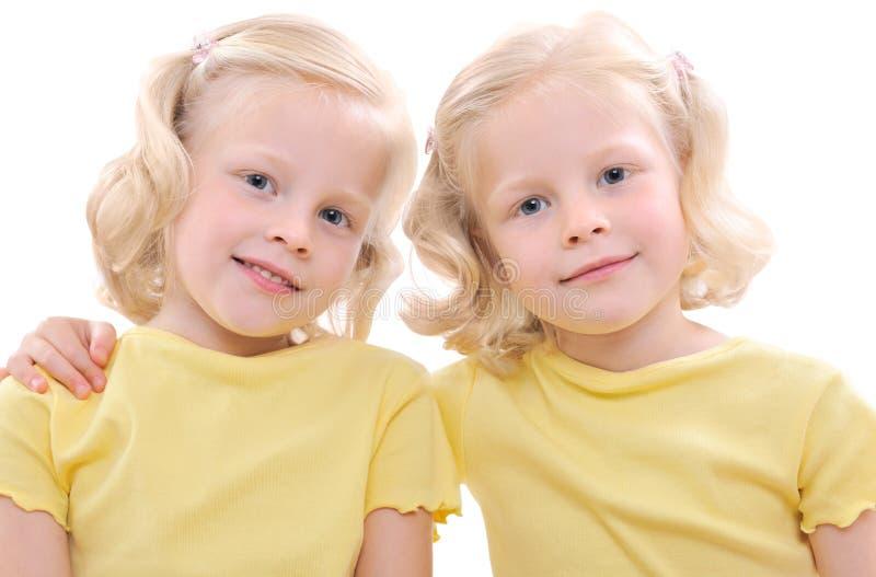 Tweelingen royalty-vrije stock foto's