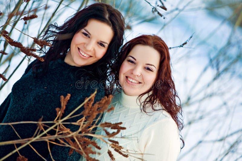 Tweelingen stock foto's