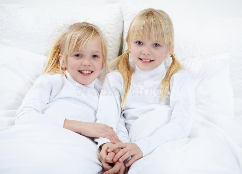 Tweelingen stock foto