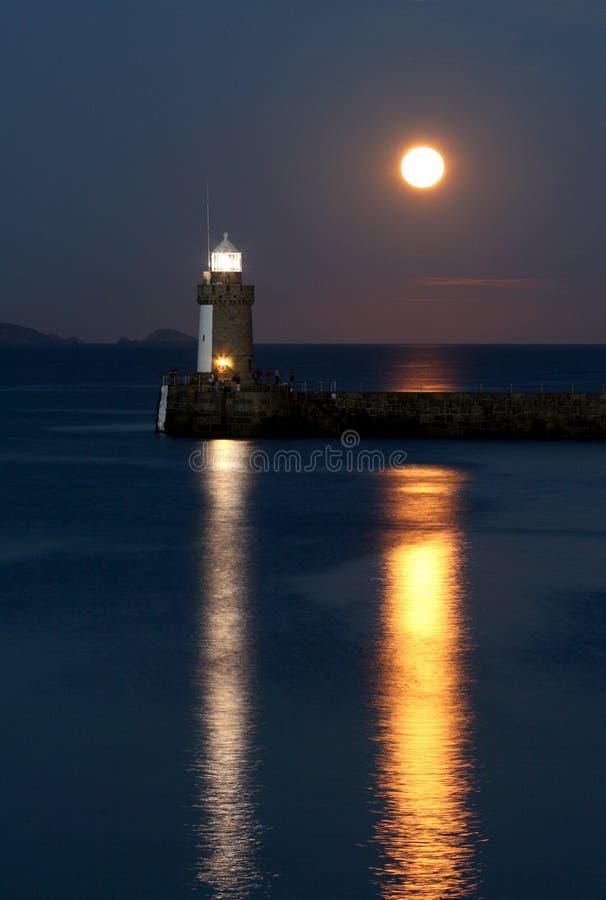 Tweelinglichten, Guernsey stock foto