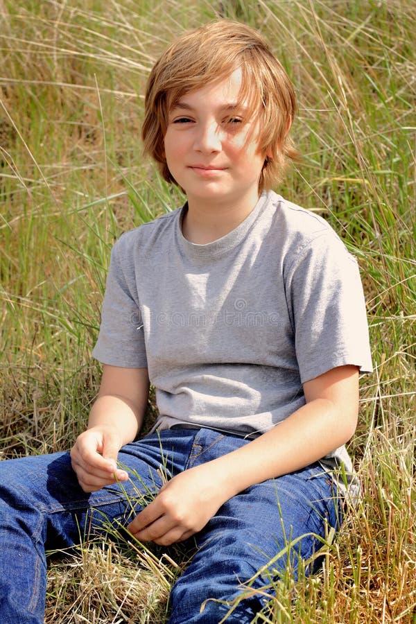 Tween αγόρι χώρας στοκ φωτογραφία με δικαίωμα ελεύθερης χρήσης