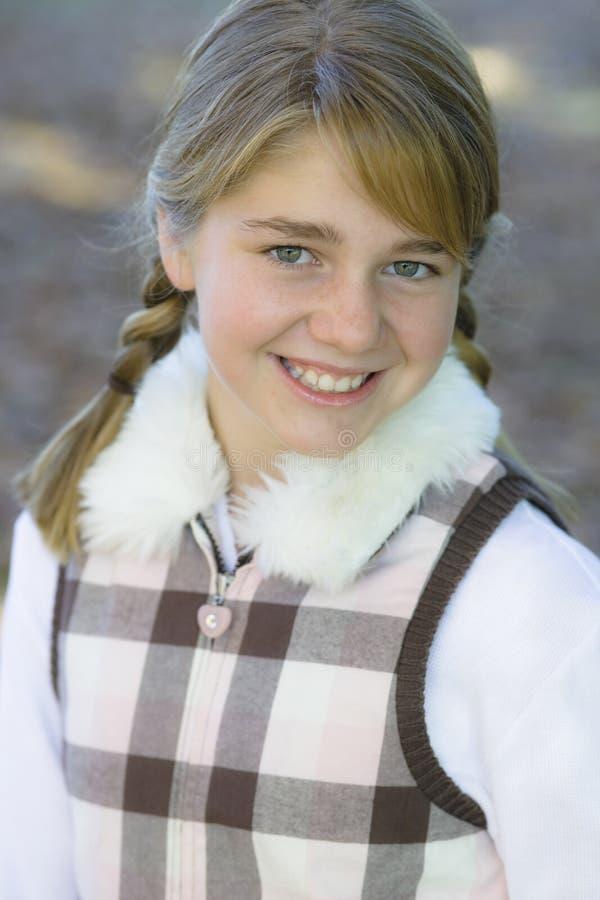 Tween-Mädchen stockfotos