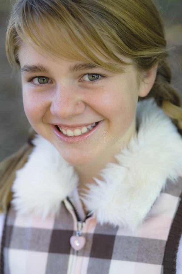 Tween-Mädchen lizenzfreies stockfoto