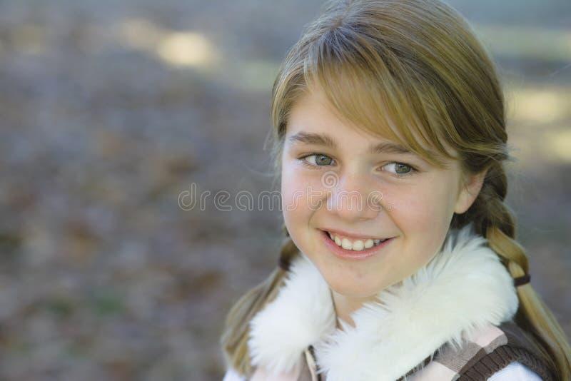 Tween-Mädchen stockfoto