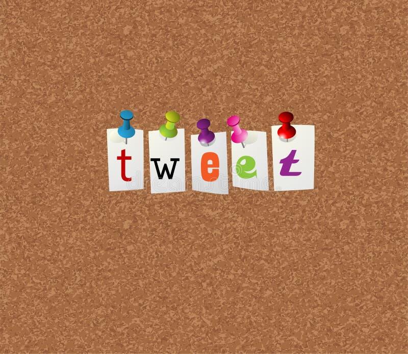 Download Tweet notice concept stock vector. Image of message, unity - 13302484