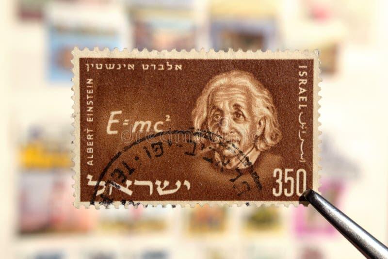 Scientist physicist Albert Einstein stock photography