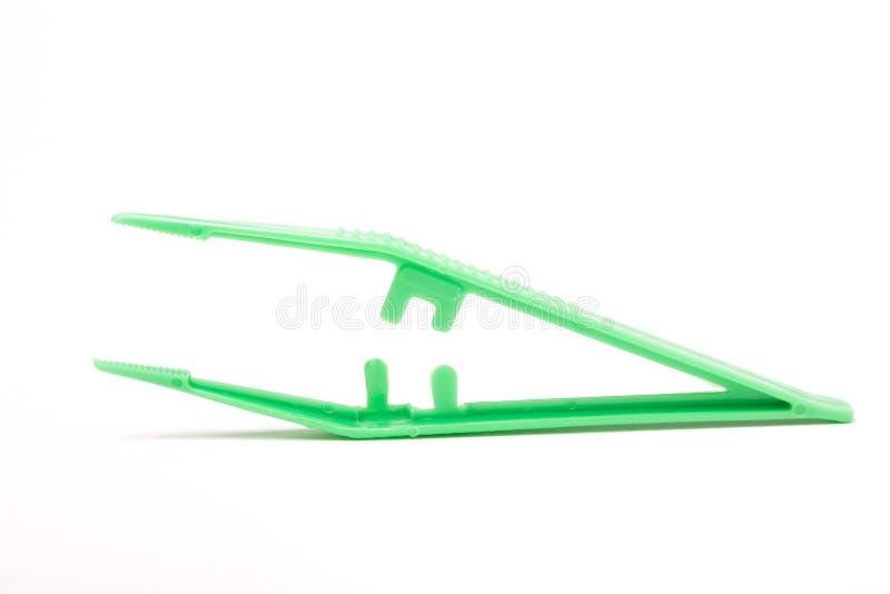 Tweezers cirúrgicos foto de stock