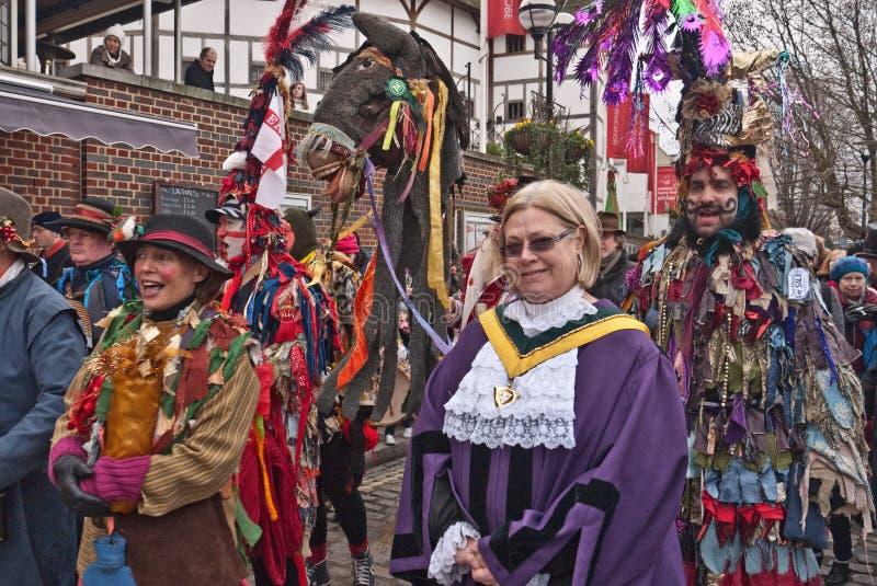Download Twelfth Night Celebrations, London UK Editorial Stock Image - Image: 17658759