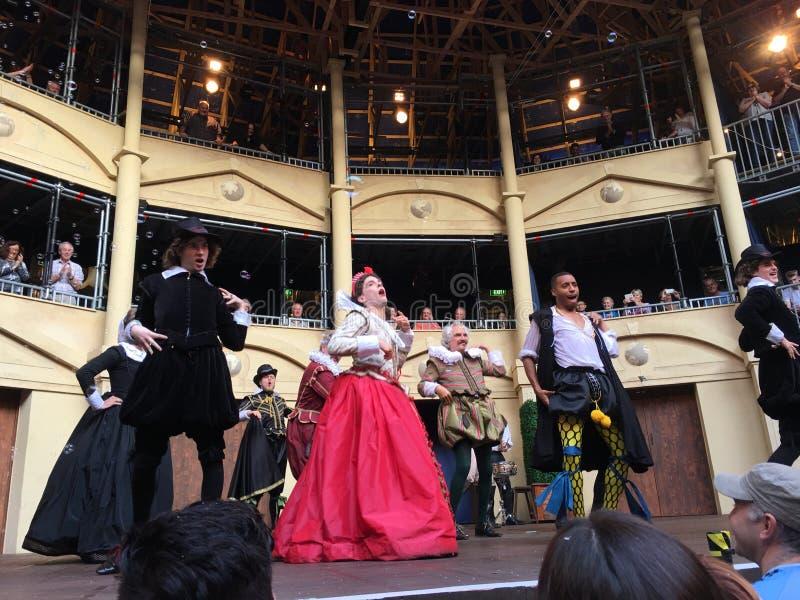 Twelfth Night Pop-up Globe Amphitheatre Auckland royalty free stock photography