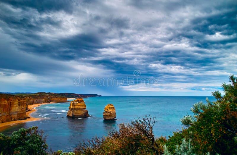 Twelve Apostles  On The Great Ocean Road Stock Images